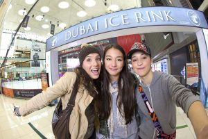 Dubai Ice RInk_Entrance