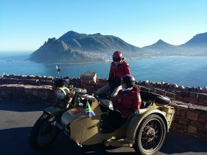 Cape Town side cars on Chapman's Peak (1) - Copy